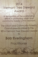 2014 Vermont Tree Steward of the Year Award